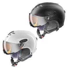 Uvex HLMT 300- casca ski/snowboard cu vizor integrat pentru un confort maxim pe partie. Cu sistem de ajustare al marimi IAS 3D care iti ofera o potrivire perfecta. Bicycle Helmet, Hats, Black, Hat, Black People, Cycling Helmet, All Black, Hipster Hat, Caps Hats