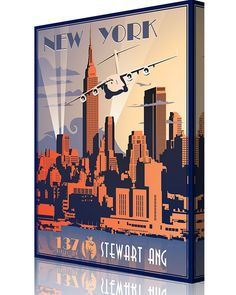 Share Squadron Posters for a 10% off coupon! New York ANG 137th AS C-17 #http://www.pinterest.com/squadronposters/