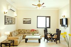 Connaught Mews Stallen Apartments – Connaught Place Living Area