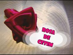 DIY.: Rosa de Cetim