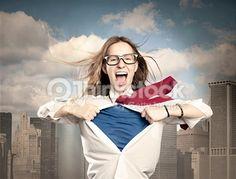 Buscar fotografías de stock de Superpoderes, Una Persona en Thinkstock