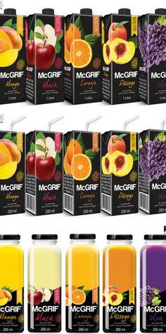 MacGrif 100% Fruit Flavor packaging by R1234 Art Design
