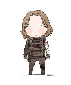 """http://xxxxxx6x.tumblr.com/: """"Last time I chatted with my friend wonta82 about food and Winter Soldier. We were discussing about what kind of food is good for him. And Steve might exchange all his weapon to food. So I did this..."""""""