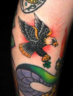 traditional eagle tattoo - Google Search