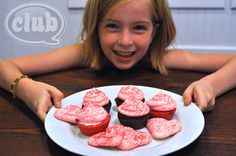 make your own chocolate cupcake cups, fill them with pudding, and top with pink meringues - lovely