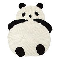 panda rug - @Jessie Cook Jones...um, I will make sure you will have this in your nursery when you have a kid one day