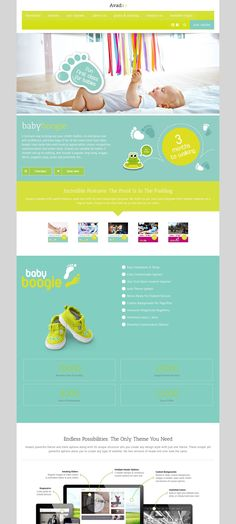 design #material #web #color #inspiration #ideas #WordPress #theme ...