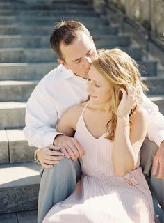 Meredith and Tyler's Biltmore Estate Engagement Session
