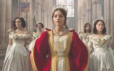 Delicate-featured Jenna Coleman, star of ITV's historical drama Victoria, has hit out at  Twitter critics who claim that she is