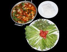 Cách nấu Lẩu đầu cá hồi ngon