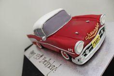 Vintage Chevrolet cake