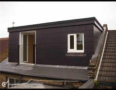 Slate Dormer Wall Side | Slating Felting of a Dormer Roof Extension / 1 of 33 / Apr 2014