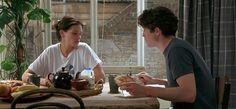 "Hugh Grant as William ""Will"" Thacker Notting Hill Film, Love Movie, Movie Tv, Hugh Grant, Love Scenes, Film Aesthetic, Good Energy, Film Books, Julia Roberts"
