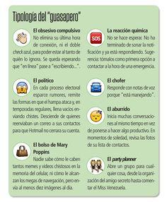 Cuál eres? Tipologia de whatsaperos  #SocialMedia #Aprendizajes #Nettiquetas