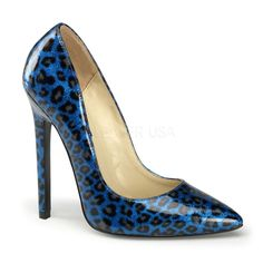 Pleaser Ladies Fetish Footwear and Sexy Clothes Pleaser Sexy Shoes 5 Inch Heel Pointed Toe Stiletto Heel Shoes Pumps Heel Height/Platform: Heel Sexy Footwear Manufactured in the Usa by Pleaser Shoes Usa High Heel Pumps, Shoes Heels Pumps, Stiletto Pumps, Pointed Toe Pumps, Leopard Print Pumps, Cheetah Print, Frauen In High Heels, Womens High Heels, Classy Heels