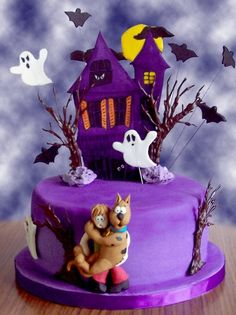 @Kathleen S S S DeCosmo ♡❤ #Cakes ❤♡ ♥ ❥  Scooby Doo where are you? Cake