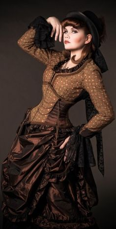 Steampunk dress....