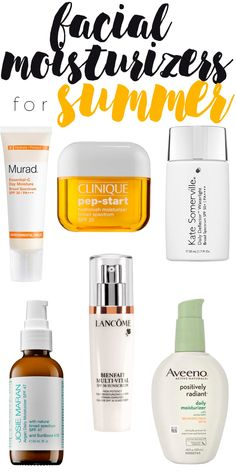 The best facial moisturizers with sunscreen -- perfect for summer!