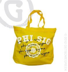 Phi Sigma Sigma   MISSY Tote  $15.50