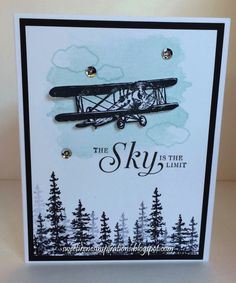 The Sky Is The Limit in 2016Stamps: Stampin' Up Sky is the Limit, Perpetual Birthday Calendar and Wonderland Paper: Whisper White and Basic Black Paper Size: A2 Ink: Basic Black Archival and Soft Sky   Read more: http://www.splitcoaststampers.com/gallery/photo/2690202#ixzz3xR8qC0ih