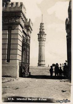 Beyazıt Kulesi (1940'lı yıllar)