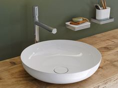 A precise thin edge counter top basin which maximises space and function is a fabulous choice for those seeking a minimalist look. For a more traditional style, soft curves can be chosen to contrast against the straight lines often found in bathrooms or you may prefer the clean lines of a more square or rectangular shape - the possibilities are endless.