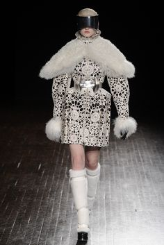 Alexander McQueen --- those embroideries are insane.