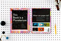 This Book is a Planetarium—but that's not all, folks! Designer/tinkerer and paper artist Kelli Anderson has dreamed up six different fully functional gadgets ma Drawing Generator, Kelli Anderson, Eiko Ojala, Wave Illustration, Mandala, Paper Pop, Geometric Drawing, Spirograph, Up Book