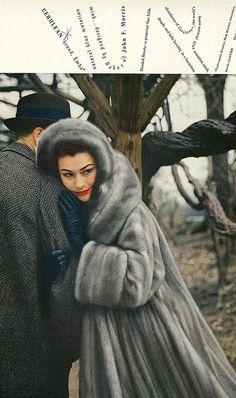 Anne Gunning, September Vogue 1957 by dovima_is_devine_II, via Flickr
