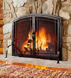 Avani Portable Fireplace Black now featured on Fab.