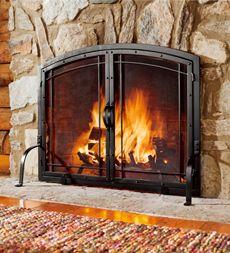 100 Fireplace Screens Spark Guards U0026 Hausen 3
