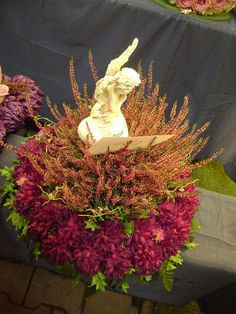 Pokaz Florystyki Żałobnej STROIK NA GRÓB - KOMPOZYCJA KWIATOWA - WIĄZANKA ,funeral sprays & wreaths