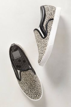 Spotted Calf Hair Slip-Ons - anthropologie.com