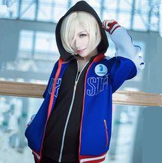 Yuri on ICE cosplay hoodie for teenagers Yur costume sweatshirt