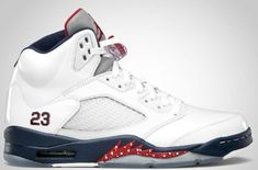 6cd7544305367d Authentic Cheap Air Jordan 5 New Authentic Cheap Air Jordan 5 Retro  Independence Day White Varsity Red Midnight Navy