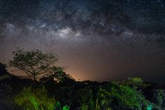 Milky Way over San Isidro Del General