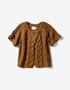 I WANT this sweater!  (Wish it came in adult sizes!)