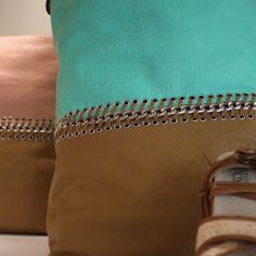Maxi bolso en dos colores