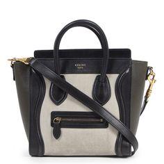 Leather Buckle, Soft Leather, Black Leather, Celine Nano Bag, Celine Micro Luggage, Novelty Bags, Fashion Handbags, Shoulder Strap, Purses
