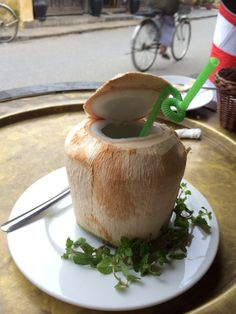Fresh coconut water | Hoi An, Vietnam