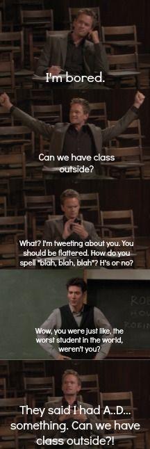 Me in class.......