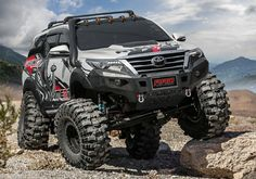 Radbumperthailand - picture for you Toyota 4x4, Toyota 4runner Trd, Toyota Trucks, Toyota Tundra, 4x4 Trucks, Diesel Trucks, Toyota Land Cruiser Prado, Offroader, Custom Cars