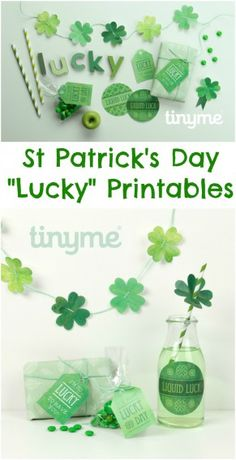 St Patrick's Day Lucky Printables Pack