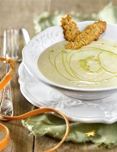 Esta crema está buenísima ¿te animas a cocinarla? Latte, Soups, Favorite Recipes, Healthy Recipes, Drinks, Cooking, Christmas, Food, Gastronomia