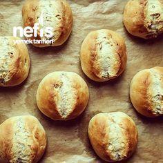 Cevizli Alman Ekceviz li Alman ekmegini yapilisi .meği ( Brötchen)
