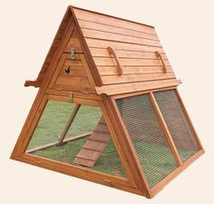 Mother Earth News Handcrafted Coop - Now that is an awesome design for some cool chicks:)
