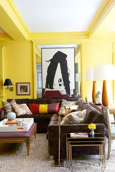 {décor inspiration | interior designer : nick olsen}