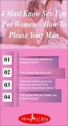 sex tips to please your man