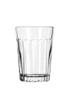 Libbey Paneled glas: waterglas
