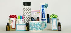 5 easy gift giving ideas using doTERRA essential oils Are Essential Oils Safe, Therapeutic Grade Essential Oils, Essential Oil Uses, Simple Gifts, Easy Gifts, 5 Gifts, Easy Homemade Gifts, Doterra Essential Oils, Doterra Blog